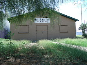 Cesar Chavez - This historic building is the Santa Rita Center (also known as Santa Rita Hall). It is where Cesar Chavez began his 24-day hunger strike on May 11, 1972. Coretta King met with Chavez in the hall during his fast. The structure was listed in the Phoenix Historic Property Register on October 2007.