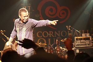 Youssou N'Dour - N'Dour at the 2010 Festival de Cornouaille at Quimper, France.