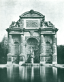 Photo of the Fontaine Médicis by Baldus - Hustin 1911 p151.png