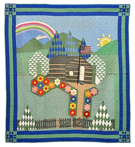 Quilt - Wikiwand : pictorial quilt books - Adamdwight.com