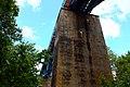 Pieniężno. Przęsła mostu kolejowego nad Doliną Wałszy (wys. 28 m) - panoramio.jpg
