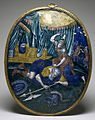 Pierre Reymond - Plaque with Jael Killing Sisera - Walters 44200.jpg