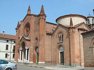 Soncino, Lombardy - Pieve of Santa Maria Assunta.