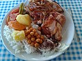 Pilav, nohut yahni, chicken, potatoes etc.jpg
