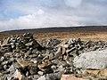 Piles of stones on Stony Edge. - geograph.org.uk - 124897.jpg
