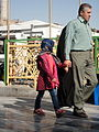 Pilgrims and People around the Holy shrine of Imam Reza at Niruz days - Mashhad - Khorasan - Iran 053.JPG