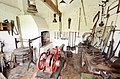 Pinchbeck Pump - Blacksmiths Shop (geograph 3468410).jpg