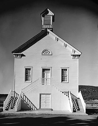 Pine Valley, Utah - The Pine Valley Chapel