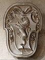 Pistoia, san domenico, interno, parti del monumento di Francesco Aldobrandini, 1728, stemma.jpg