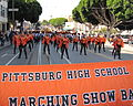 Pittsburg High School Show Band - Columbus Day Italian Heritage Parade in SF North Beach 2011 45.jpg
