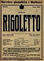 Plakat za predstavo Rigoletto v Narodnem gledališču v Mariboru 18. maja 1927.jpg