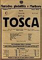 Plakat za predstavo Tosca v Narodnem gledališču v Mariboru 18. junija 1925.jpg