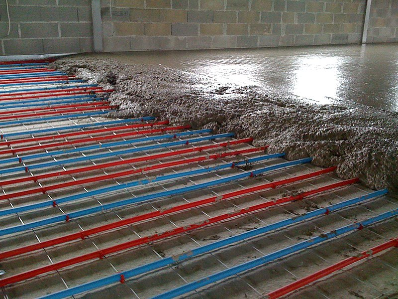 Solar floor