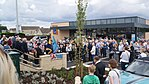 Plaque unveiling for James Harry Lacey, Aldi, Wetherby (23rd July 2017) 005.jpg
