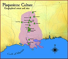 Plaquemine culture map HRoe 2010.jpg