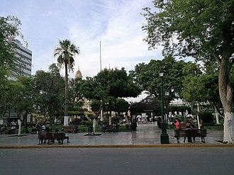 Piura - Image: Plaza de Armas de Piura
