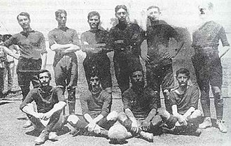 Panathinaikos F.C. - The first team of 1908