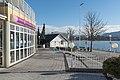 Poertschach Werzer Promenade Strandcasino Werzer und Bootshaus 15012016 0104.jpg