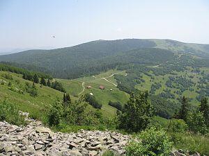 Golija - Jankov kamen peak