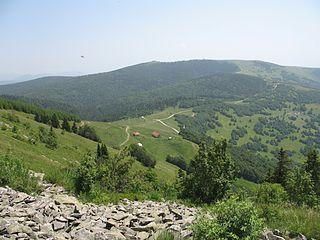mountain in Serbia