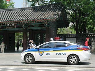 National Police Agency (South Korea) - NPA Police Car in Seoul
