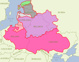 was territory of Grand Duchy of Lithuania and later of Polish–Lithuanian Commonwealth, 1561-1621