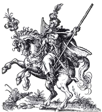 Polish hussar first half of XVI century.PNG