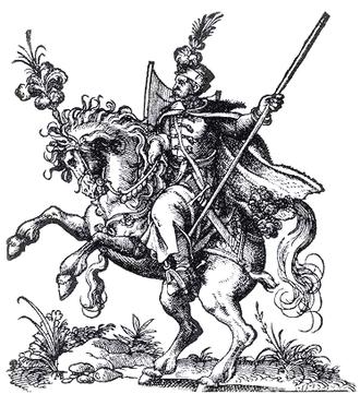 Battle of Lubieszów - Commonwealth Hussar