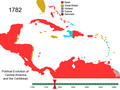 Political Evolution of Central America and the Caribbean 1782.png