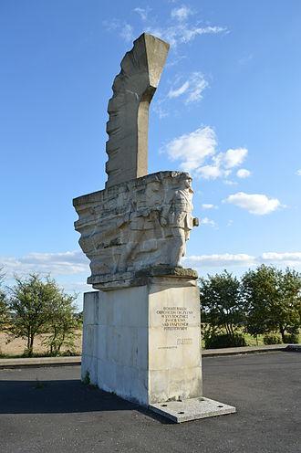 Battle of Mokra - Monument commemorating the battle