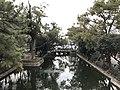 Pond of Sumiyoshi Grand Shrine from Sorihashi Bridge (south).jpg