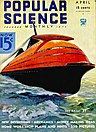 Streamlined Ocean Liner, Popular Science Monthly, 1934