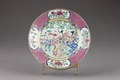Porslinstallrik gjord i Kina på 1700-talet - Hallwylska museet - 96074.tif