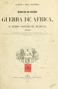 Portada de «Diario de un testigo de la guerra de África».jpg