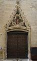 Portalada principal per l'interior de la catedral d'Osca.JPG