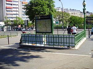 Porte d'Auteuil (Paris Métro) - Image: Porte d'Auteuil métro 01