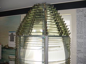 Portland Head Light - Original Fresnel lens