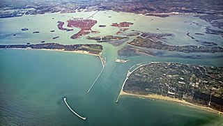 Venetian Lagoon enclosed bay of the Adriatic Sea