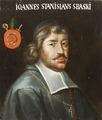 Porträtt föreställande Johann Stanislaus Sbaski, polsk biskop 1688-1697 - Skoklosters slott - 109859.tif