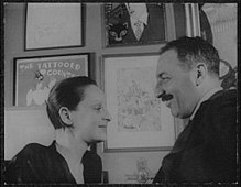 Portrait of Alfred Knopf and Blanche Knopf LCCN2004663143.jpg