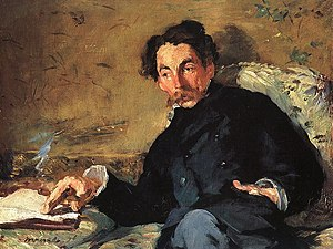 Portrait of Stéphane Mallarmé by Édouard Manet.