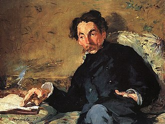 1876 in poetry - Portrait of Stéphane Mallarmé, by Eduard Manet, 1876