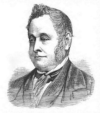 William George Ward - Engraving of William George Ward (1883)
