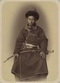 Portraits of the Retinue of the Kokand Khan. Masein Khan Tiura, Nephew of the Khan WDL10853.png