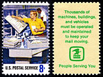 Postal Service Employees - Mail Canceling - 8c 1973 issue U.S. stamp.jpg