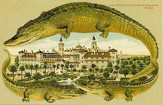 Ponce de Leon Hotel - Hotel postcard, about 1909