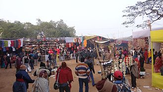 Poush Mela - Poush Mela Bazaar, 2012.