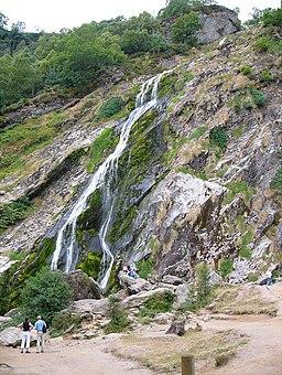 Powerscourt Waterfall, Co Wicklow - geograph.org.uk - 316322