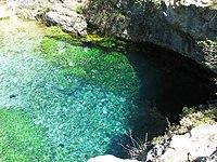 Pozo azul - Covanera - Burgos - España - 2009-08-03 12-31-09.JPG