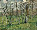 Prairie de Bazincourt by Camille Pissarro, 1885.jpg